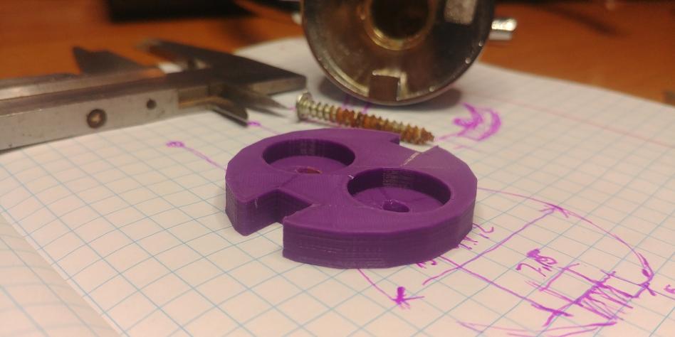 Naprawa wieszaka do papieru z wykorzystaniem drukarki 3D - PO