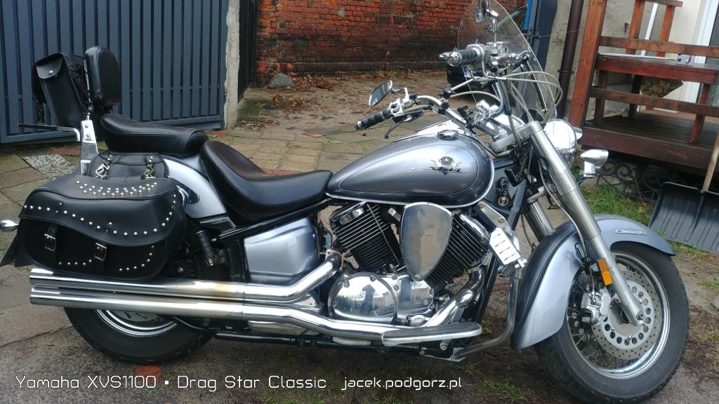 Yamaha XVS1100 • Drag Star Classic  - 2