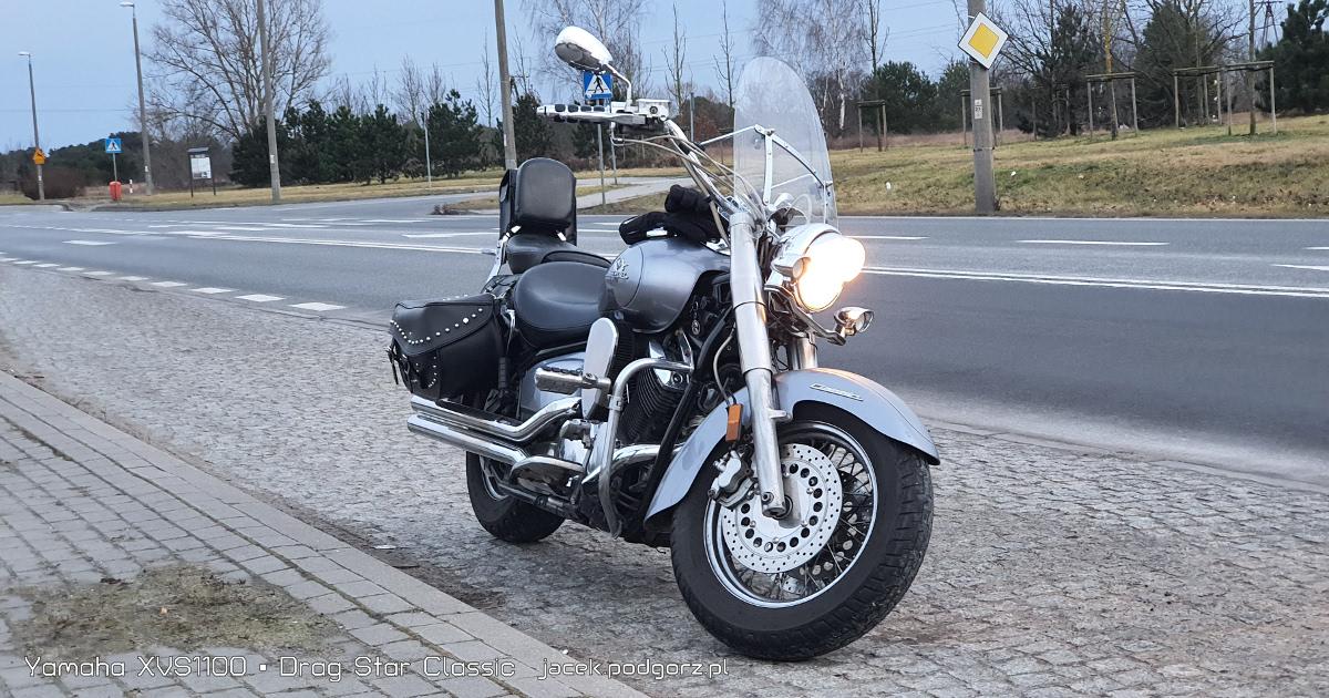 Yamaha XVS1100 • Drag Star Classic  - 1